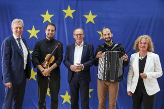 Bild 40   Verleihung des Europäischen Bürgerpreises