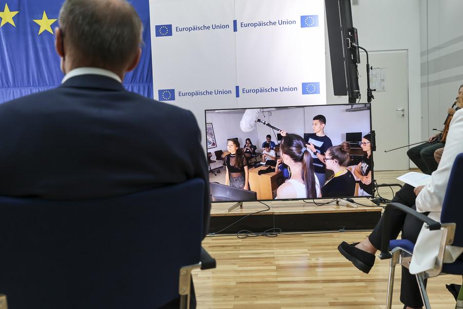 Bild 43   Verleihung des Europäischen Bürgerpreises