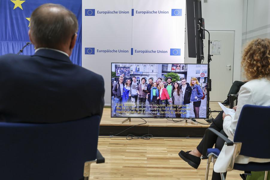 Bild 44   Verleihung des Europäischen Bürgerpreises