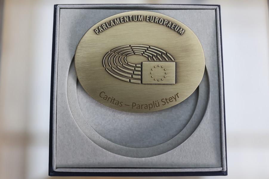 Bild 47   Verleihung des Europäischen Bürgerpreises