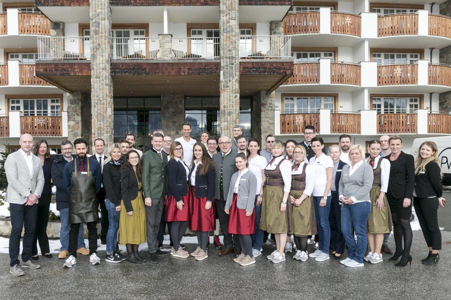 Eroffnung Des Grand Tirolia Hotel Kitzbuhel Curio Collection By